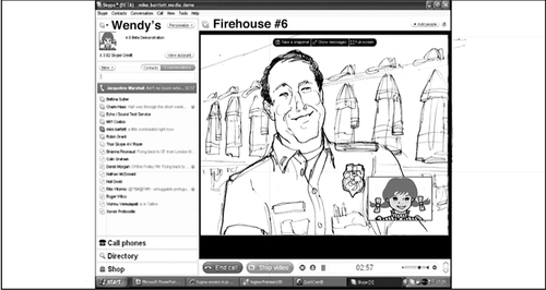 David G Klein - Storyboard Wendy's